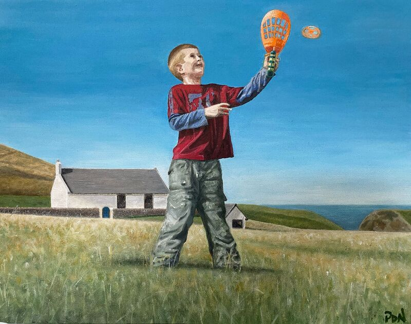 Jamie at Mwnt - NOT FOR SALE