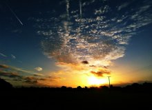 Sunrise over Marshfield
