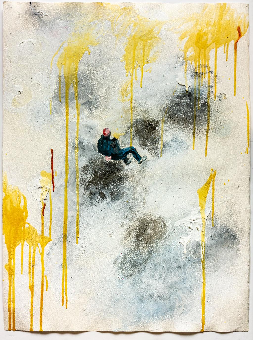 Falling Man (Gaza) 2015