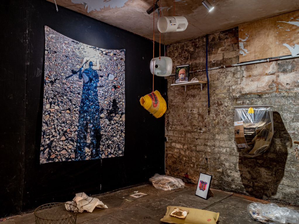 Installation view 'A House Within A Home'
