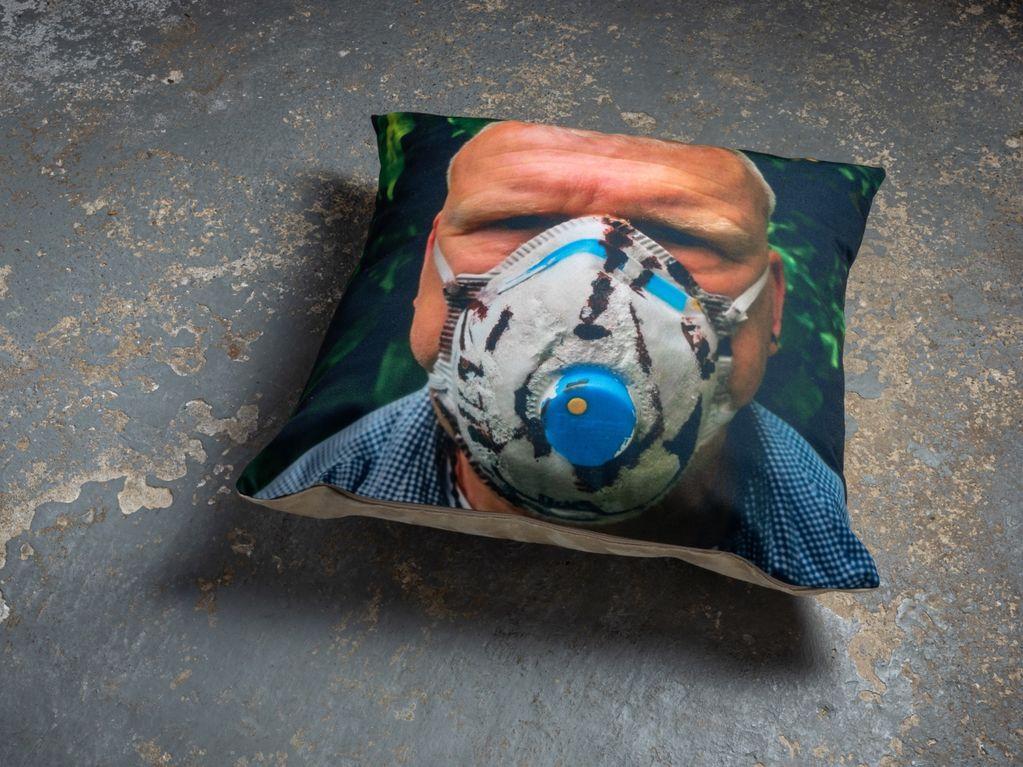 Lion Mask (Cushion) 2019