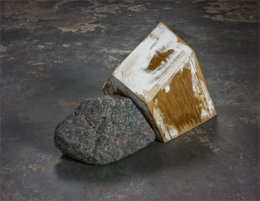 Untitled (Rock and House) 2017