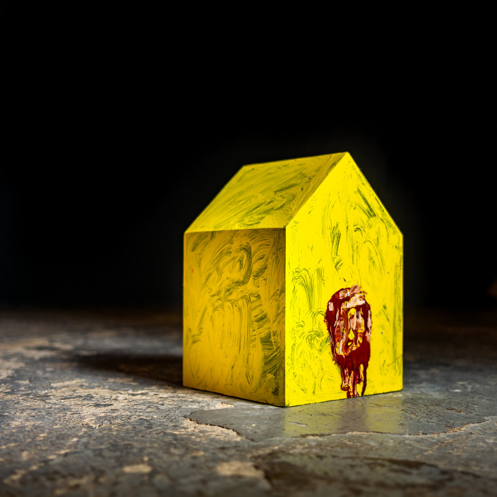 Yellow House with Lion 2018