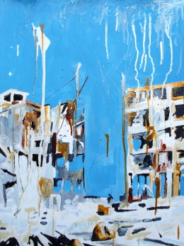 Bombed Buildings Syria Phill Hopkins 2014