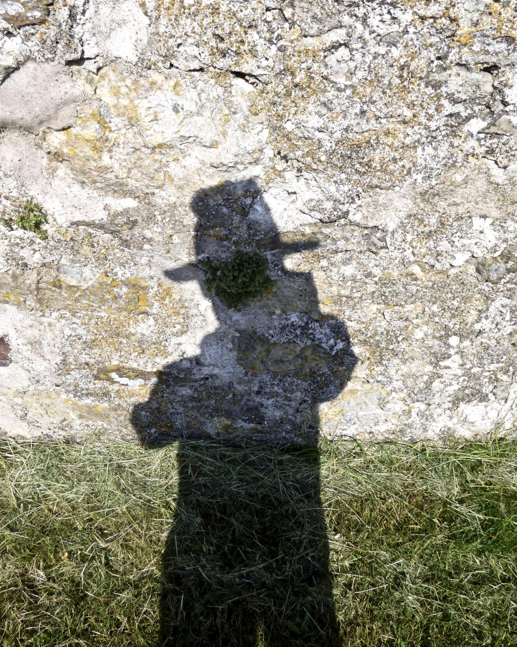 Self Portrait, Wall, Bardsey Island 2018