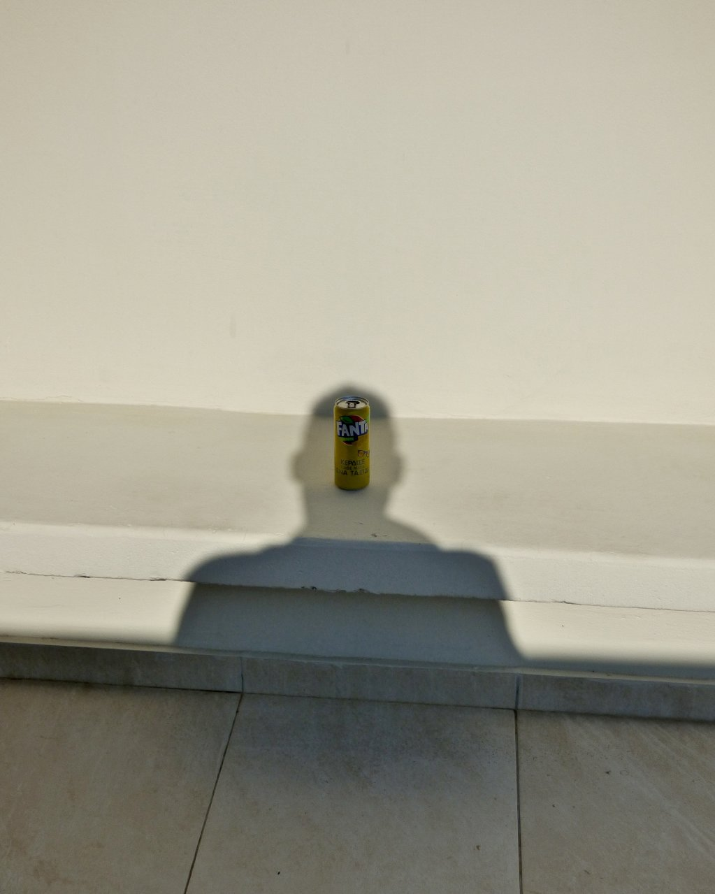 Self Portrait as The Son of Man (Can of Greek Lemon Fanta Series) 2018