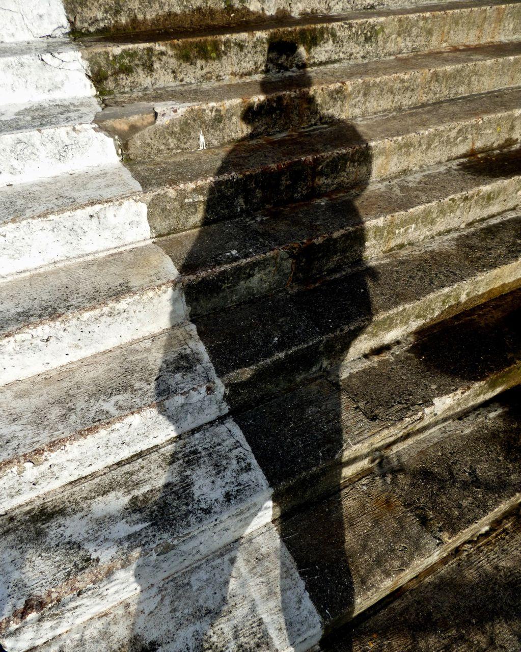 Self Portrait on Scarborough Sea Steps 2018