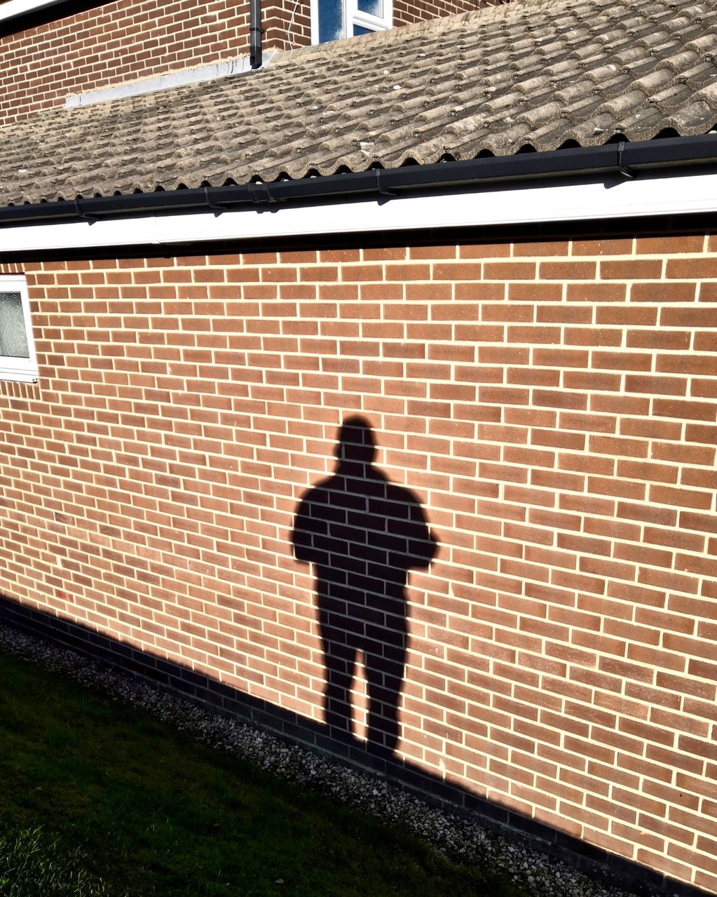 Self Portrait on Side of House 2019