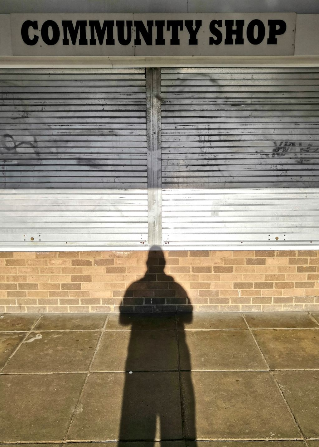 Self Portrait Outside the Community Shop 2019