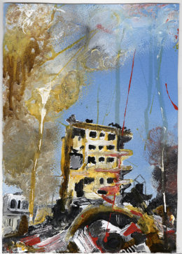 Bombed Tower Block (Syria) 2015