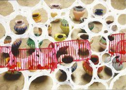 Ai WeiWei – Coloured Vases (Maidan Variations) 2014