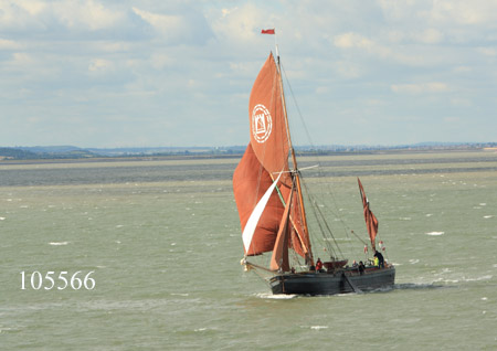 Thames sailing barge Lady of the Lea
