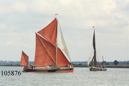 Sailing Barges Repertor and Xylonite