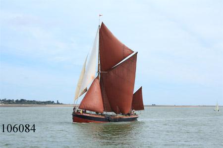 Thames sailing barge Repertor.