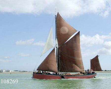 Thames sailing barge Melissa