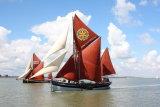 "Thames sailing barge ""Cambria"""