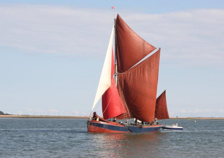 """Thames sailing barge """"Repertor"""""""