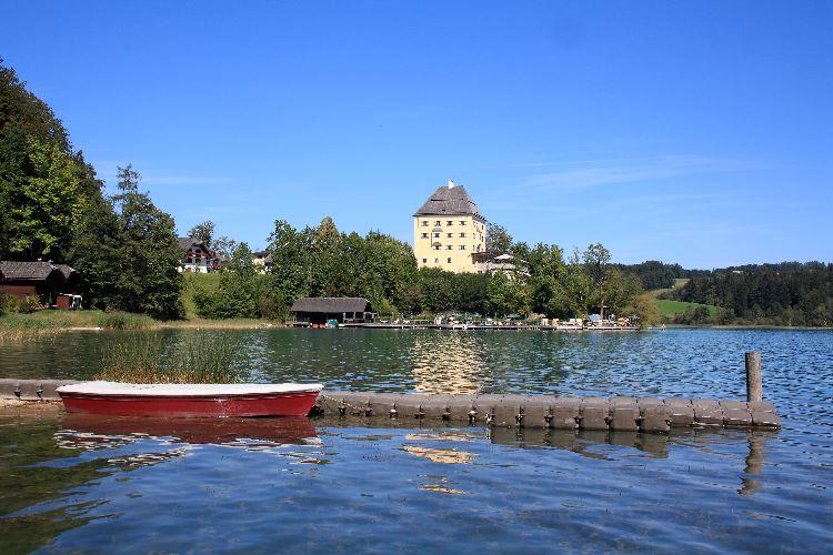 Schloss Fuschl from the Fuschlsee
