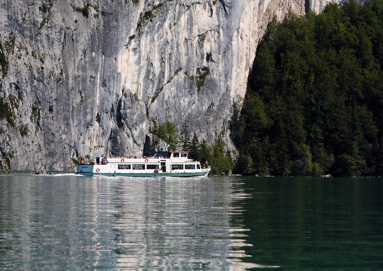 Ferry on the Wolfgangsee