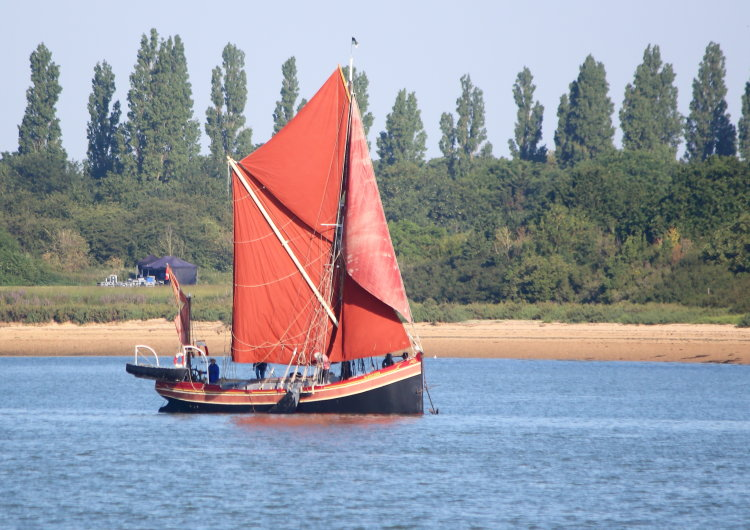 "Barge Yacht ""Blackthorn"""