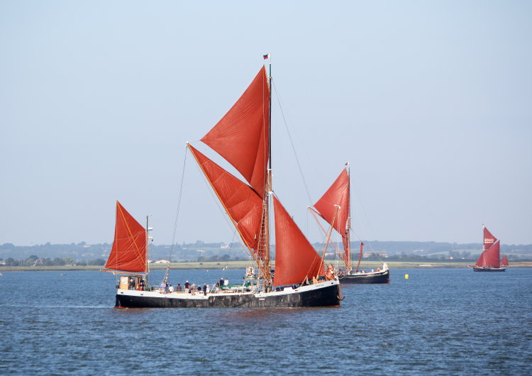 "Thames sailing barge ""Thistle"""