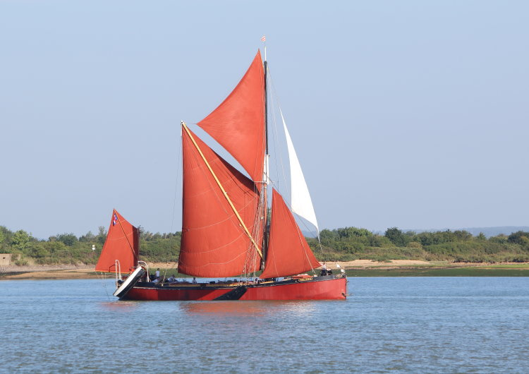 "Thames sailing barge ""Melissa"""