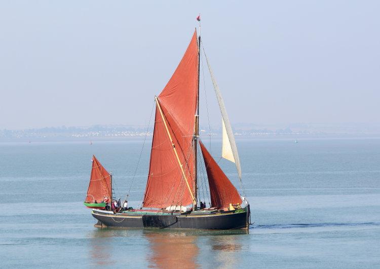"Thames sailing barge ""Pudge"""