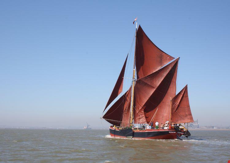 Thames sailing barge Repertor