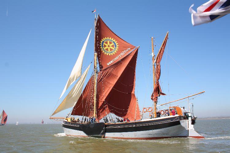 Thames sailing barge Cambria