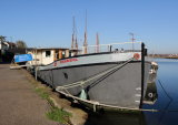 "Thames sailing barge ""Resourceful"""