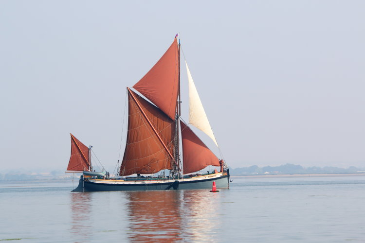 "Thames sailing barge ""George Smeed"""