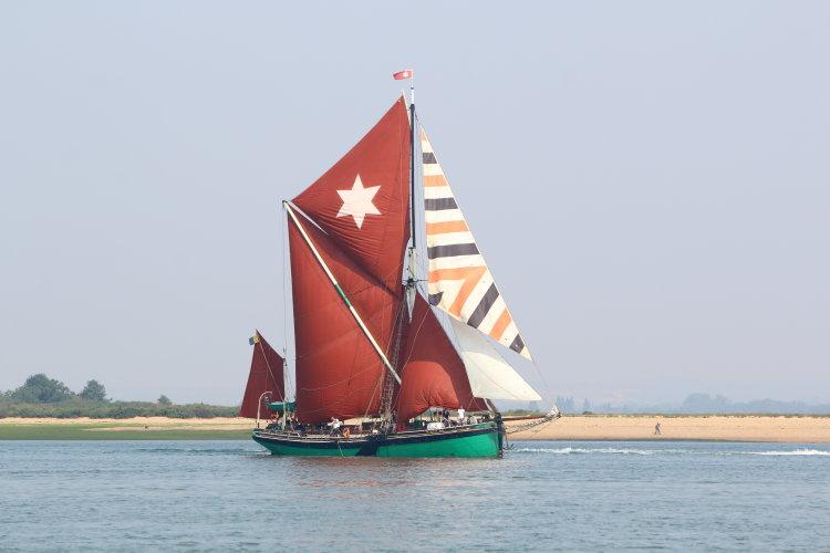 "Thames sailing barge ""Kitty"""