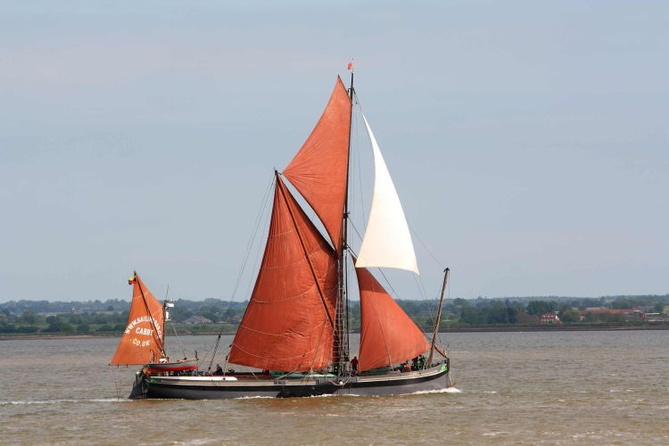Thamess sailing barge Cabby