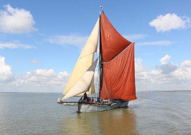"""Thames sailing barge """"Xylonite"""""""
