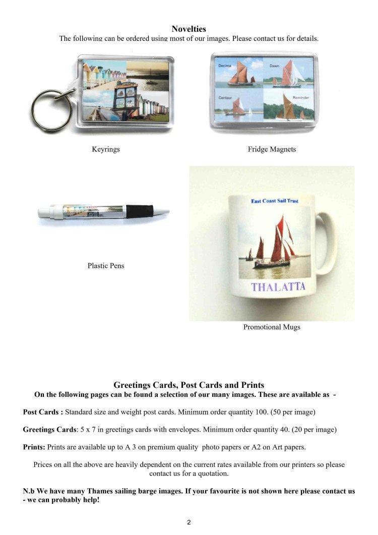 Catalogue Page 2