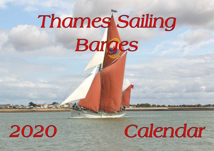 Thames sailing barge calendar 2020