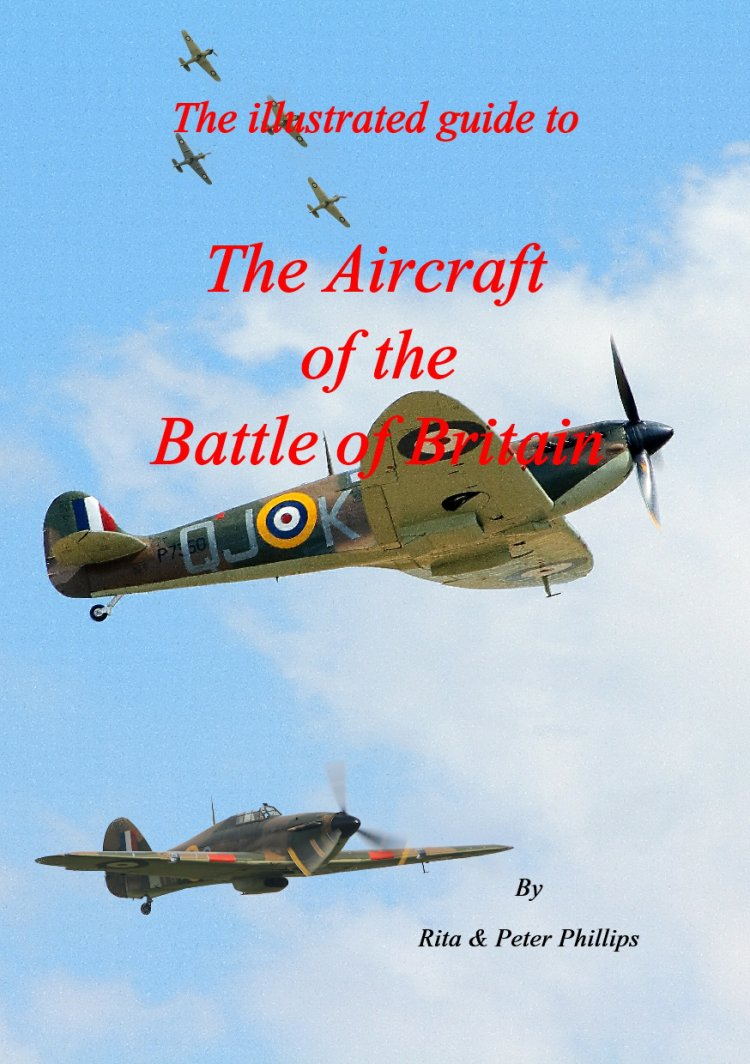 Cover page of the Illustrated guide to the aircraft of the Battle of Britain.