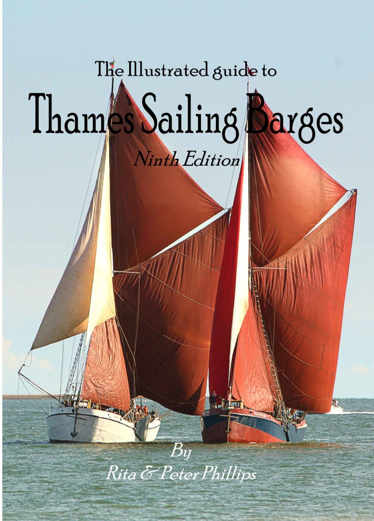 Cover to the ninth edition of the Illustrated guide to Thames sailing barges