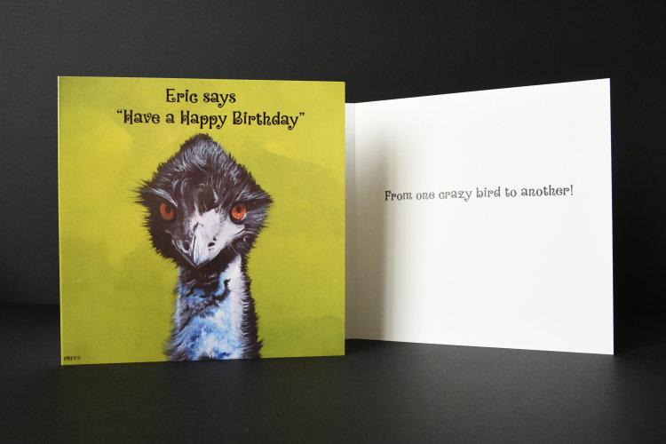 Eric Birthday card
