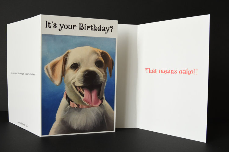 Maddie Birthday card