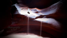 Falling Sands of Antelope Canyon