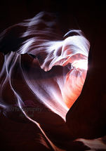 'Heart' of Antelope Canyon