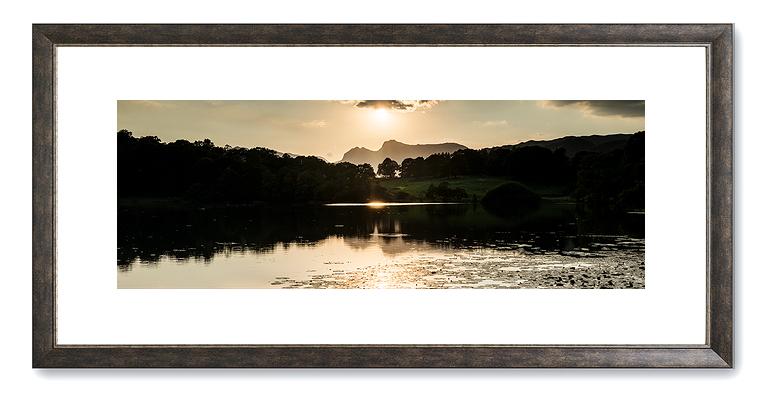 GPC10 - Sunset over Loughrigg Tarn