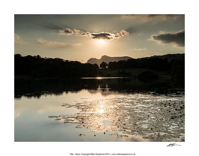 CCP30 - Loughrigg Tarn