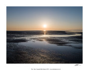 CPP53 - Sunset over Morecambe Bay