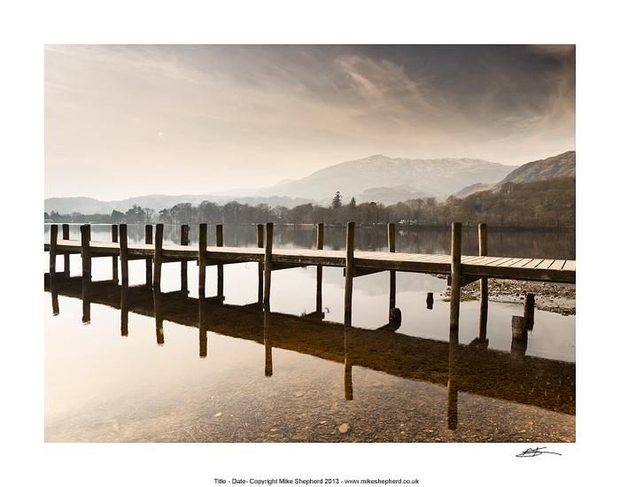 CPP2 Landing Stage with Coniston Old Man