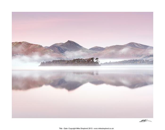 CPP5 Mid Winter Morning Derwent Water