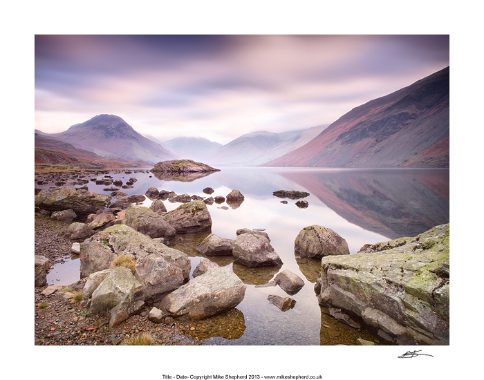 CPP7 Quiet Morning on Wast Water
