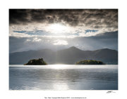 CPP41 Sunlight over Derwent Water