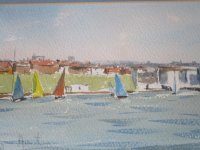 Sail Boats on Southwick Canal